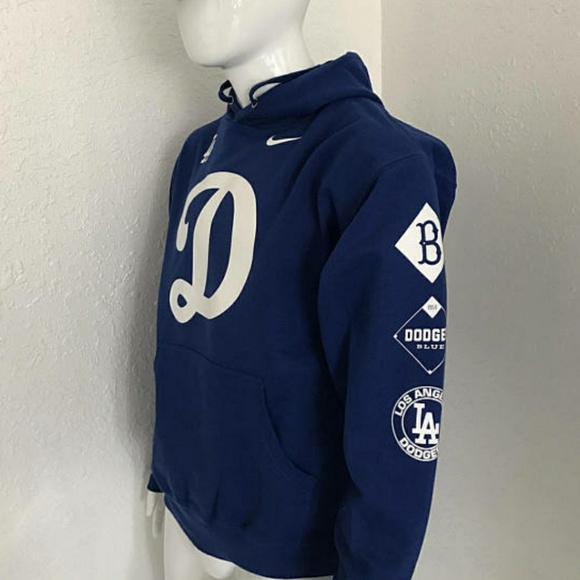 Cotton Heritage Other - New Dodgers Logo Hoodie - LA Dodgers Sweater - MLB dc3fd7530